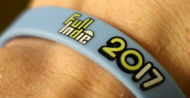 Full Indie Summit 2017 wristband